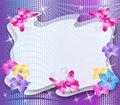 Magic floral background Royalty Free Stock Image