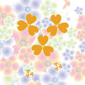 Magic flower background Royalty Free Stock Photo