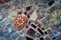 Magic Gardens: Philadelphia Glass Tile Building Royalty Free Stock Images