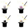 Magic hat, bunny ears