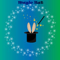 Magic hat, bunny ears