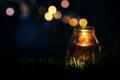Magic Jar Royalty Free Stock Photo