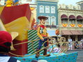 Magic Kingdom Parade Royalty Free Stock Photo