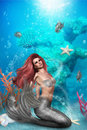 Magic Mermaid Stock Photo