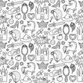 Magic Patch Seamless Pattern