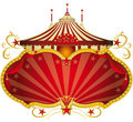 Magic red circus frame