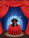 Magic show Stock Images