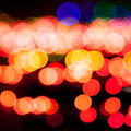 Magic sparkle, light dots and bokeh effect Royalty Free Stock Photo