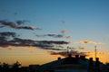 Magic sunset Royalty Free Stock Photo