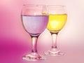 Magic wineglass