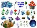 Magic wood set
