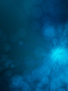 Magical abstract blue background Royalty Free Stock Photo