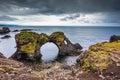 Magical coastal cliffs