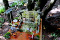 Magical Faerie Crystal Garden Royalty Free Stock Photo