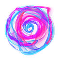 The magical form of violet smoke abstract violet red blue background Stock Photo