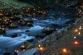 Magical River At Night
