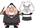Magician Rabbit Royalty Free Stock Photo