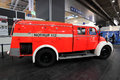 Magirus Deutz fire truck from 1960 Royalty Free Stock Photography
