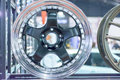 Magnesium alloy wheel or mag wheel or max wheels of Car Royalty Free Stock Photo