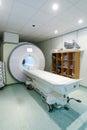 Magnetic resonance spectroscopy machine in hospital laboratory Stock Photos