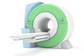 Magnetic resonance tompgraph modern mri on white background Royalty Free Stock Images