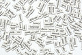 Magnetic Words Royalty Free Stock Photo