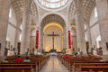 Magnificent interior of Merida Cathedral in Yucatan, Mexico Royalty Free Stock Photo