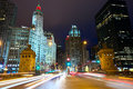 Magnificent Mile in Chicago Royalty Free Stock Photo