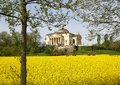 Magnificent palladian villa called la rotonda in neo classical s style the city of vicenza italy Stock Image