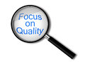 Magnify glass Royalty Free Stock Photo