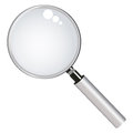 Magnifying glass (lens) Stock Photo