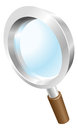 Magnifying glass search icon Royalty Free Stock Photo