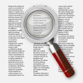Magnifying Glass, Vector Eps10...