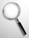 Magnifying glass vector illustration background Royalty Free Stock Image