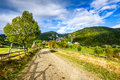 Magura village, Carpathian Mountains, Romania Royalty Free Stock Photo