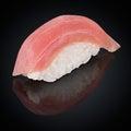 Maguro Sushi with tuna Royalty Free Stock Photo