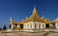 Maha Ant Htoo Kan Thar Pagoda, Pyin Oo Lwin (Maymyo) Royalty Free Stock Photo