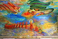 Maha Wizaya Pagoda`s Painting, Yangon, Myanmar