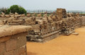 Mahabalipuram monuments Royalty Free Stock Photo