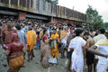 Mahalaya in kolkata october people flocking the ghat to offer prayers to their ancestors at the end of the pitru paksha at the Stock Images