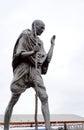 Mahatma Gandhi bronze Royalty Free Stock Photo