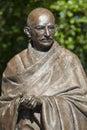 Mahatma Gandhi Statue in London Royalty Free Stock Photo