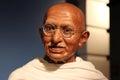 Mahatma Gandhi wax statue Royalty Free Stock Photo