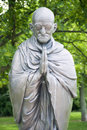 Mahatma ghandi budapest circa june garden of philosophy monument on gellért hill by sculptor nandor wagner consists of eight Royalty Free Stock Photography