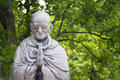 Mahatma ghandi budapest circa june garden of philosophy monument on gellért hill by sculptor nandor wagner consists of eight Stock Image
