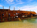 The Maheno wreck Stock Photography