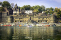 Maheshwar - Ahilya Fort Royalty Free Stock Photo