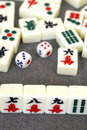 Mahjong in china Royalty Free Stock Photography