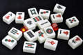Mahjong tiles Stock Photography