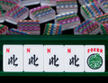 Mahjong tiles Royalty Free Stock Photos